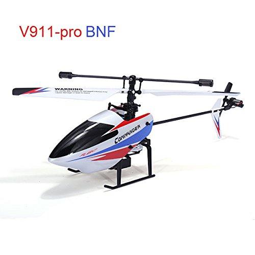 Pink Lizard WLtoys V911-pro V911-V2 24G 4CH RC Helicopter BNF