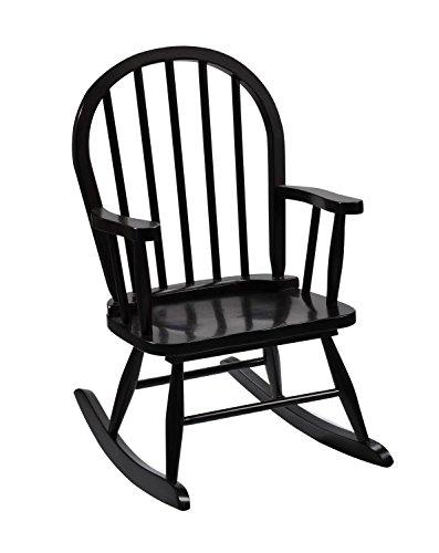 Gift Mark Childrens Windsor Rocking Chair Espresso