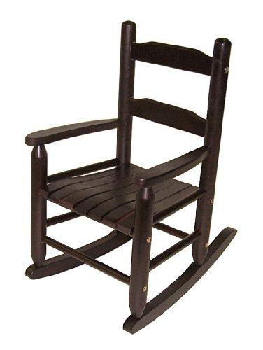 Lipper International 555E Childs Rocking Chair Espresso