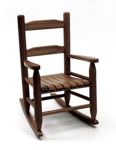 Lipper International 555WN Childs Rocking Chair Walnut