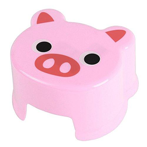 Piggy Stool - TOOGOORCartoon Animal Children Antiskid Stool Bathroom Stool Feet Stool Pink Piggy