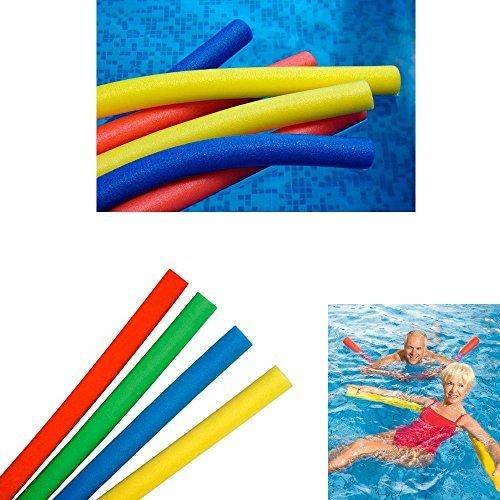 4 Swimming Floating Pool Foam Noodle Swim Noodles Water Float Floatie Crafts by QNP RRG