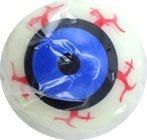 Dozen Light Up LED Flashing Monster Eye Rubber Balls - 2