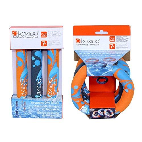 Kokido Dive Sticks Dive Rings - Combo Pack