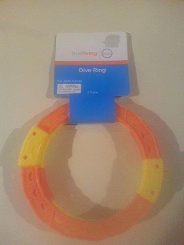 True Living Dive Ring Bundle of 2 4 Rings