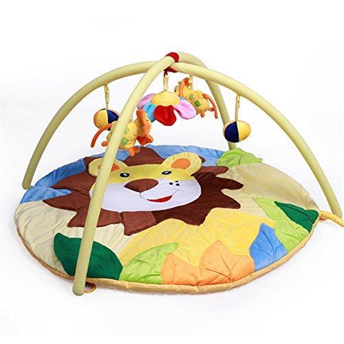 LemonGo Baby Activity Play Gym Mats lion