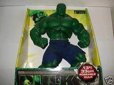1st Hulk Movie 13 Poseable Hulk Deluxe Action Figure 2003 Toy Biz by Hulk