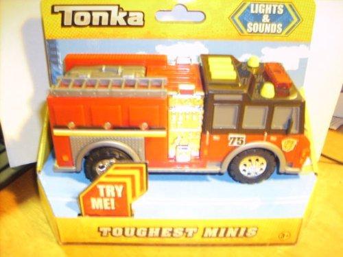 Tonka Lights Sounds Toughest Minis Fire Engine