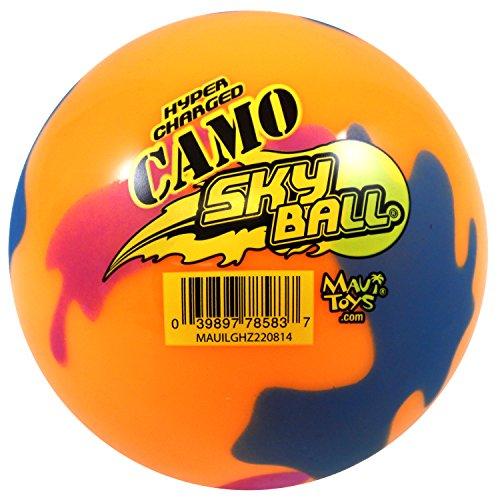 Maui Toys Camo Orange Skyball