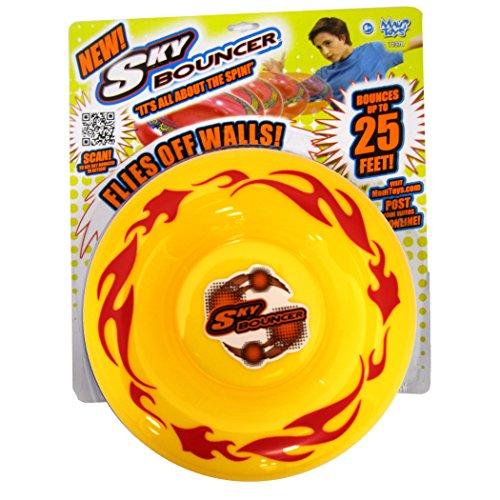 Maui Toys Pop Skybouncer Fire Yellow Flying Disc