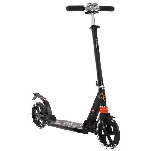 Gracelove Foldable Lightweight Adjustable Adult Teenagers Kick Scooter