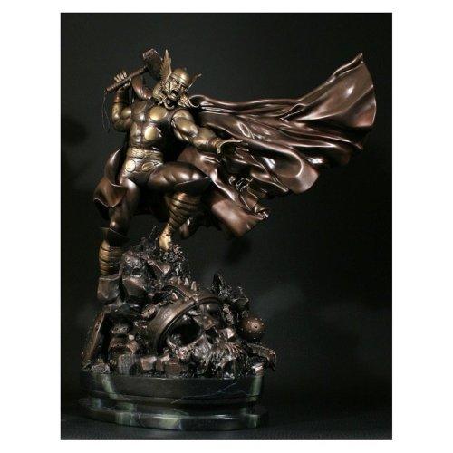 Thor Action Faux Bronze Bowen Designs Statue