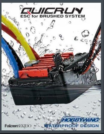 HobbyWing HWI30120201 Quicrun 1060 Brushed ESC 110 Toy