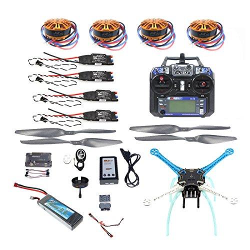Z-Standby 24G 6ch RC Quadcopter Drone 500mm S500-PCB APM28 M8N GPS RTF Full Kit DIY Unassembly Brushless Motor ESC Battery