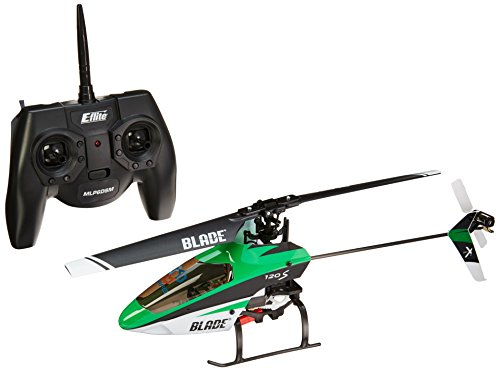 Blade BLH4100 120 S RTF 6-Channel Radio Sub-Micro Single Rotor RC Helicopter