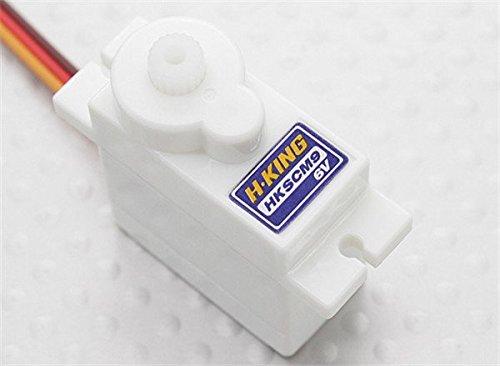 HobbyKing HKSCM9-6 Singlechip Digital Micro Servo 16kg  007sec  10g  Torque 14kg  48v 16kg  6v