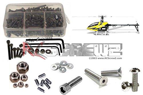 RCScrewZ Align Trex 550e Stainless Steel Screw Kit alg012