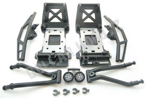 HPI Savage XS Flux Mini  BUMPER SKID PLATE SET  Chassis Brace 105298 SS