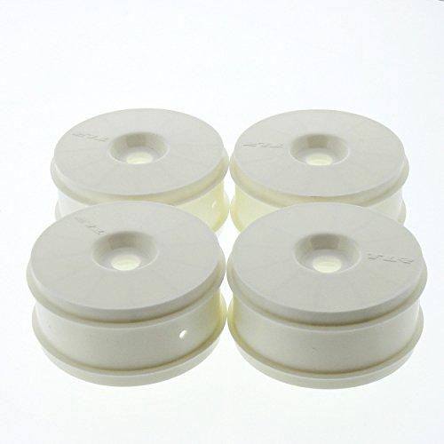 Team Losi 8IGHT-E 40 Buggy 18 White Plastic Dish WheelsRims