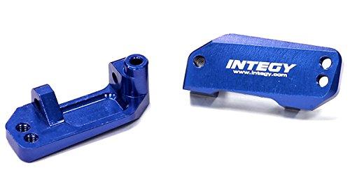 Integy RC Hobby T8639BLUE Billet Machined T3 Caster Block 2 for 110 RustlerStampede 2WDSlash 2WD