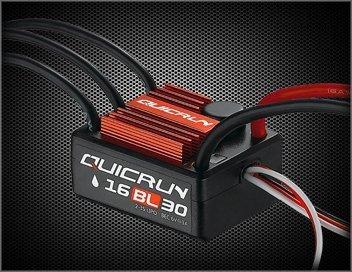 HobbyWing Hobby Wing 30110000 Quicrun-WP-16BL30 Waterproof ESC Car 18 Scale