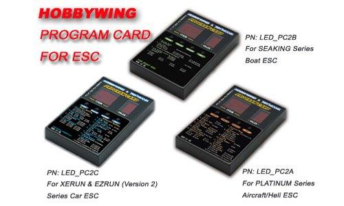 LED Program Card for Hobbywing Platinum Series Version 20