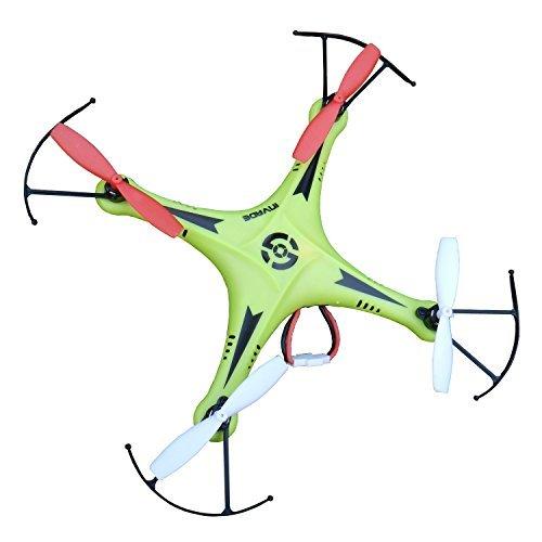 Night lions Tech TM SXMJ 102 Spy 24G 6 axis ufo mini RC Drone Quadcopter Aerobatics RTF Green