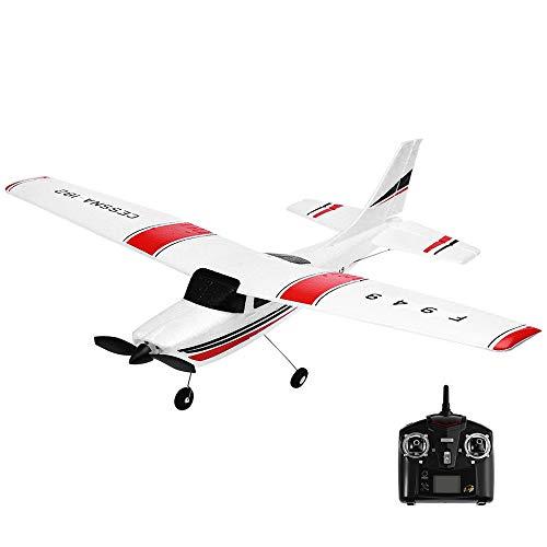 Afazfa Wltoys F949 24G 3CH Remote Control RC Radio Aircraft Drone Airplane White