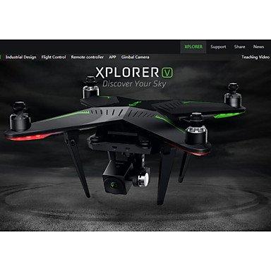 OOFAYWRJ XIRO Zero Xplorer V Professional FPV 58G 4-Axis RC Quadcopter Drone with 1080P Camera  black