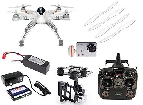 Walkera QR X350 PRO FPV RTF Drone w G-2D Gimbal - iLook 1080P 30FPS HD Camera  58GHz Video TX Devo F7 LCD Radio - FAST FREE SHIPPING FROM Orlando Florida USA