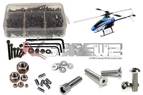 RCScrewZ E-Flite Blade SR Stainless Steel Screw Kit efl009