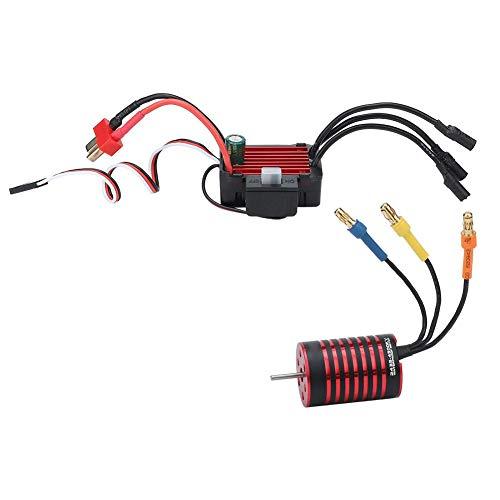 Motor ESC Set2435 Brushless 4500KV Motor  25A Waterproof ESC for 116 118 RC Car