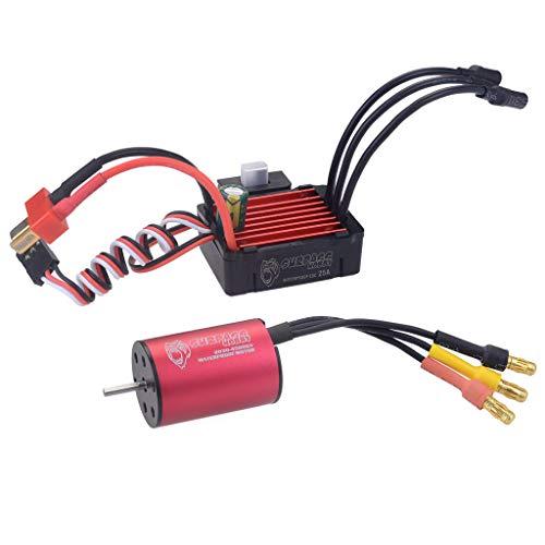 RONSHIN Surpass Hobby Brushless Speed Controller 25A ESC2030 4500kv Motor Waterproof for 118 120 RC Car