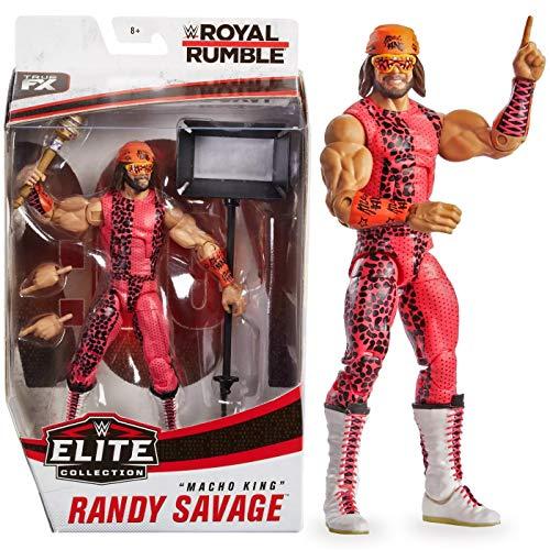 WWE Elite Collection Randy Macho Man King Savage Royal Rumble Exclusive Action Figure