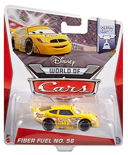 Disney World of Cars Piston Cup Die-Cast Vehicle Fiber Fuel No 56 1316 155 Scale
