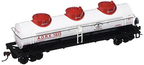 Bachmann Industries Allegheny Refining 40 Three-Dome Tank Car HO Scale Train
