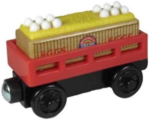 Thomas Friends McColls Egg Cargo Car Wooden Railway Tank Train Engine Loose