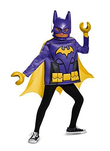 Disguise Batgirl LEGO Movie Classic Costume Black Medium 7-8