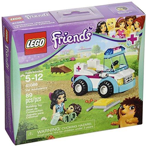LEGO Friends Vet Ambulance Girl 89pcs Figures Building Block Toys