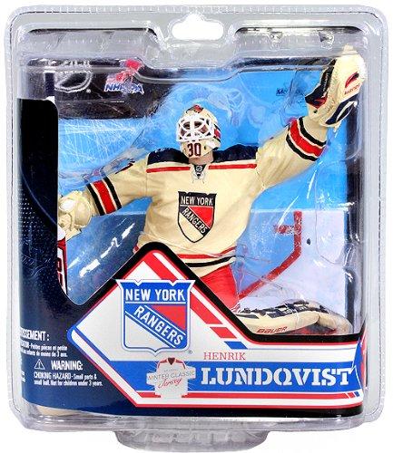 McFarlane NHL Series 32 Henrik Lundqvist New York Rangers