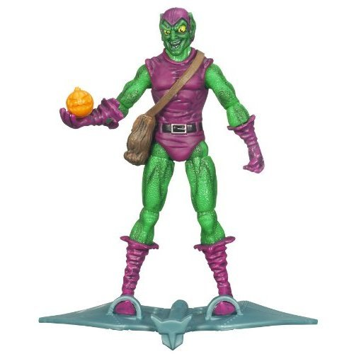 SpiderMan 2010 Series One 3 34 Inch Action Figure Dive Bomber Green Goblin