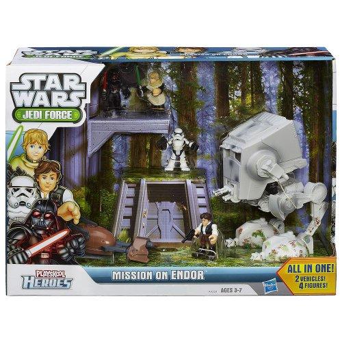 Playskool Heroes Star Wars Jedi Force Mission on Endor Playset