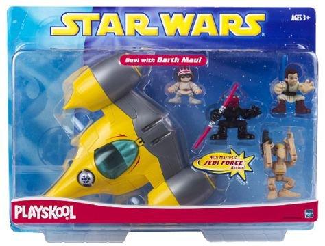 Star Wars Galactic Heroes Playskool Duel with Darth Maul