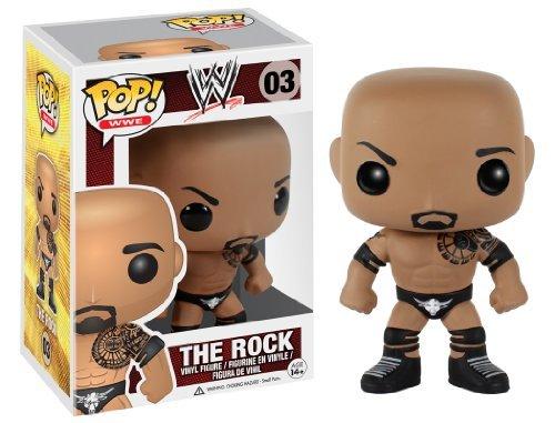 Funko POP WWE The Rock Action Figure by FunKo
