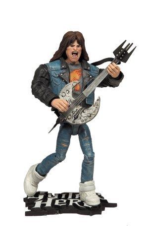 Guitar Hero Guitar Hero God of Rock action figure BLACK  BLACK
