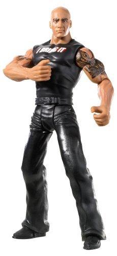 WWE FlexForce Hook Throwin The Rock Action Figure X3782 imported goods