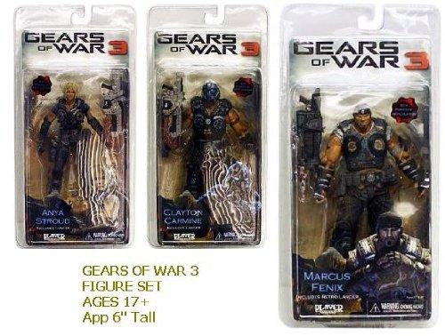 Neca - Gears of War 3 Series 1 Action Figure Case 18 cm 14