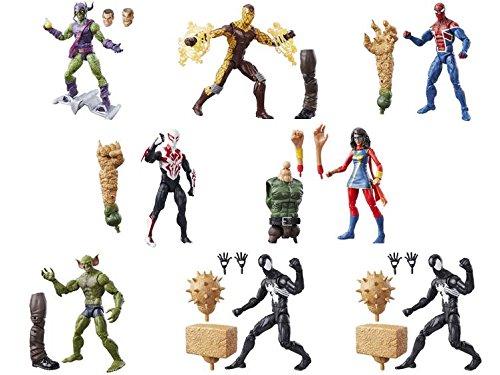 Marvel Spider-Man 6-inch Legends Series Multiverse Spider-Men Spider-Man 2099