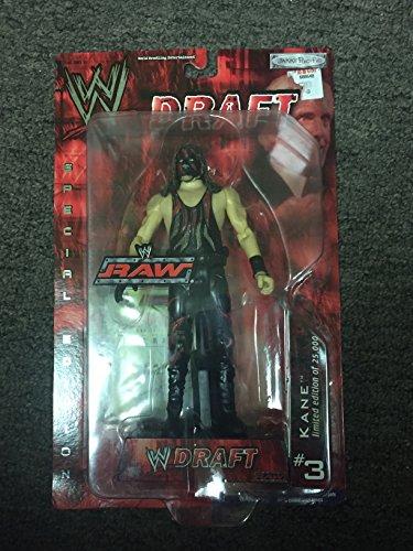 WWE Raw Jakks Pacific Draft Special Edition Kane Action Figure