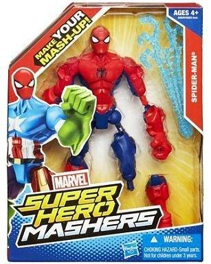 Marvel Comics Hasbro action figure superhero-mashers Wave 1 Spider-Man single item